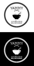 Logo # 1084609 voor ontwerp een horeca logo voor een nieuw te openen asian korean bbq restaurant wedstrijd