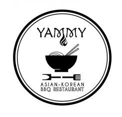 Logo # 1084615 voor ontwerp een horeca logo voor een nieuw te openen asian korean bbq restaurant wedstrijd