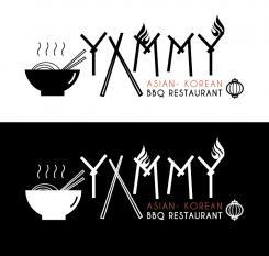 Logo # 1084634 voor ontwerp een horeca logo voor een nieuw te openen asian korean bbq restaurant wedstrijd