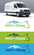 Logo design # 1108921 for Logo for a veterinary practice specialized in large animals in the french Alps contest