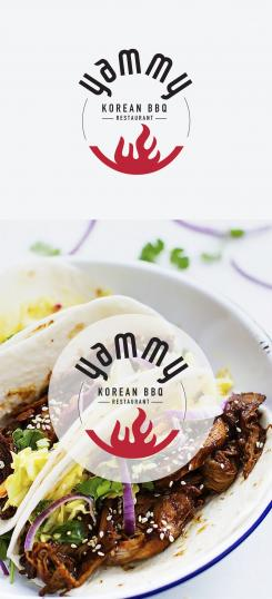 Logo # 1084930 voor ontwerp een horeca logo voor een nieuw te openen asian korean bbq restaurant wedstrijd