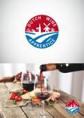 Logo # 1064417 voor Logo  plus social  voor Wine Blogger wedstrijd