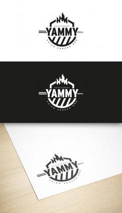 Logo # 1055857 voor ontwerp een horeca logo voor een nieuw te openen asian korean bbq restaurant wedstrijd