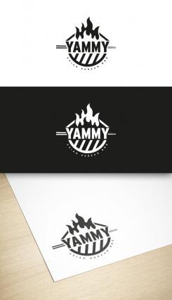 Logo # 1055858 voor ontwerp een horeca logo voor een nieuw te openen asian korean bbq restaurant wedstrijd