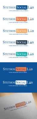 Logo design # 925192 for logo of the new company: Stethos Social Lab ( new subsidiary of Stethos Group) contest
