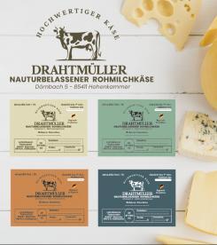 Logo  # 1086172 für Milchbauer lasst Kase produzieren   Selbstvermarktung Wettbewerb
