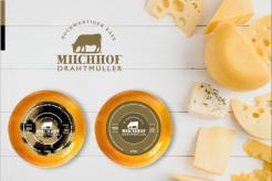 Logo  # 1085537 für Milchbauer lasst Kase produzieren   Selbstvermarktung Wettbewerb