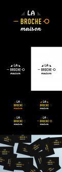 Logo design # 1218048 for LOGO  La Broche Maison  contest