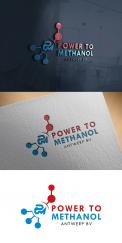 Logo design # 1089476 for Company logo for consortium of 7 players who will be building a  Power to methanol  demonstration plant for their legal entity  Power to Methanol Antwerp BV  contest
