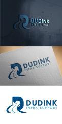 Logo # 990780 voor Update bestaande logo Dudink infra support wedstrijd