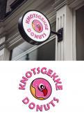 Logo # 1231275 voor Ontwerp een kleurrijk logo voor een donut store wedstrijd