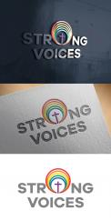 Logo # 1107188 voor Ontwerp logo Europese conferentie van christelijke LHBTI organisaties thema  'Strong Voices' wedstrijd