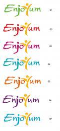 Logo # 339382 voor Logo Enjoyum. A fun, innovate and tasty food company. wedstrijd