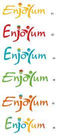 Logo # 339095 voor Logo Enjoyum. A fun, innovate and tasty food company. wedstrijd