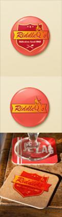 Logo # 439531 voor Logo voor BBQ wedstrijd team RiddleQ's wedstrijd