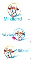 Logo # 326978 voor Redesign of the logo Milkiland. See the logo www.milkiland.nl wedstrijd