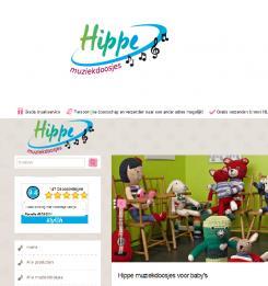 Logo # 368927 voor Ontwerp een logo voor een bestaande webshop die muziekdoosjes voor baby's verkoopt wedstrijd