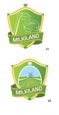 Logo # 329403 voor Redesign of the logo Milkiland. See the logo www.milkiland.nl wedstrijd