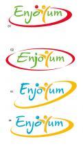 Logo # 341658 voor Logo Enjoyum. A fun, innovate and tasty food company. wedstrijd