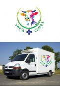 Logo design # 1106099 for Logo for a veterinary practice specialized in large animals in the french Alps contest