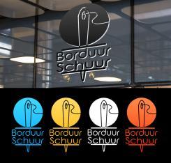 Logo # 1127613 voor Borduurschuur wedstrijd