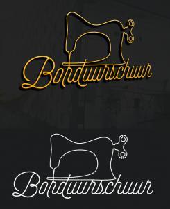 Logo # 1127469 voor Borduurschuur wedstrijd