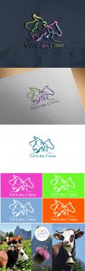 Logo design # 1107931 for Logo for a veterinary practice specialized in large animals in the french Alps contest