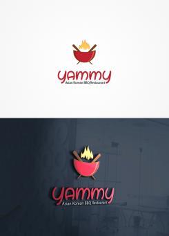Logo # 1056869 voor ontwerp een horeca logo voor een nieuw te openen asian korean bbq restaurant wedstrijd