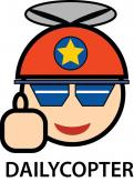 Logo # 300008 voor Logo + Mascotte voor Dailycopter wedstrijd