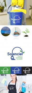 Logo design # 1200530 for Solenciel  ecological and solidarity cleaning contest