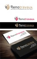 Logo & stationery # 1120517 for Renotravaux contest