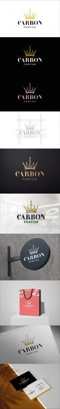 Logo & stationery # 1116306 for Logo and style for a new parfum Brand contest