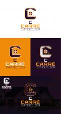 Logo & stationery # 1109980 for Creation of a logo and a graphic identity for a 2 0 Real Estate Agency contest