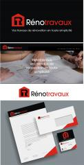 Logo & stationery # 1115406 for Renotravaux contest