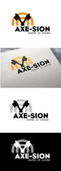 Logo & stationery # 1151012 for Create our logo and identity! We are Axe Sion! contest
