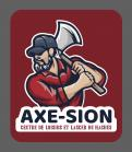 Logo & stationery # 1150963 for Create our logo and identity! We are Axe Sion! contest