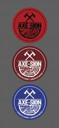 Logo & stationery # 1150967 for Create our logo and identity! We are Axe Sion! contest
