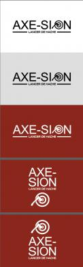 Logo & stationery # 1151289 for Create our logo and identity! We are Axe Sion! contest