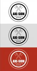 Logo & stationery # 1152220 for Create our logo and identity! We are Axe Sion! contest