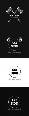 Logo & stationery # 1152015 for Create our logo and identity! We are Axe Sion! contest