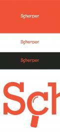 Logo & Huisstijl # 434635 voor Rotterdams onderzoeks- en adviesbureau Scherper zoekt passend logo+huisstijl wedstrijd