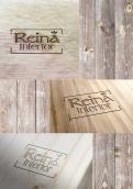 Logo & stationery # 1235348 for Logo for interior design  Reina  stam en staal  contest