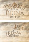 Logo & stationery # 1237205 for Logo for interior design  Reina  stam en staal  contest
