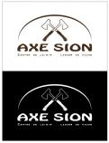 Logo & stationery # 1151114 for Create our logo and identity! We are Axe Sion! contest