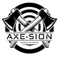 Logo & stationery # 1152711 for Create our logo and identity! We are Axe Sion! contest