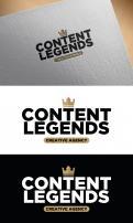 Logo & Huisstijl # 1216060 voor Rebranding van logo en huisstijl voor creatief bureau Content Legends wedstrijd