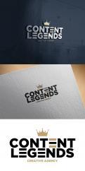 Logo & Huisstijl # 1217264 voor Rebranding van logo en huisstijl voor creatief bureau Content Legends wedstrijd