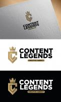 Logo & Huisstijl # 1216063 voor Rebranding van logo en huisstijl voor creatief bureau Content Legends wedstrijd