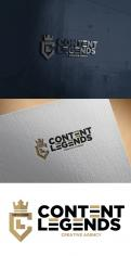 Logo & Huisstijl # 1219297 voor Rebranding van logo en huisstijl voor creatief bureau Content Legends wedstrijd