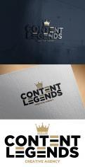 Logo & Huisstijl # 1219298 voor Rebranding van logo en huisstijl voor creatief bureau Content Legends wedstrijd